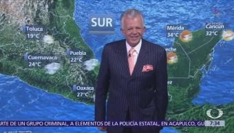 Despierta con Tiempo: Potencial de lluvias vespertinas al centro de México