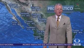 Despierta con Tiempo: Pronostican tormentas en norte