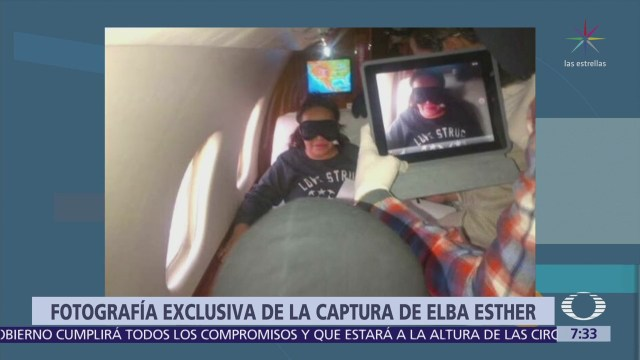 Despierta presenta foto inédita de captura de Elba Esther Gordillo