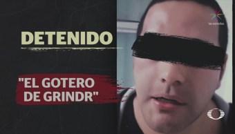 Detienen 'El Gotero' Sujeto Contactaba Víctimas Grindr