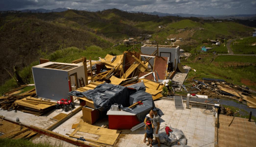 Huracán María dejó mil 400 muertos, admite Puerto Rico