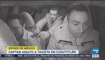 Difunden en redes sociales de un asalto a un taxista
