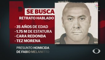 Difunden retrato hablado de presunto asesino abio Melanitto