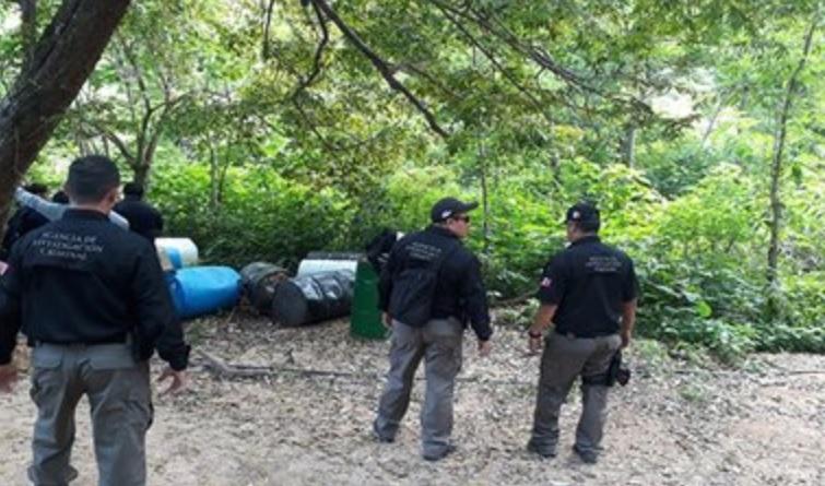 Desmantelan narcolaboratorio de drogas sintéticas en La Huerta, Jalisco