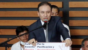 Alfonso Durazo: perdón no significa liberar a delincuentes