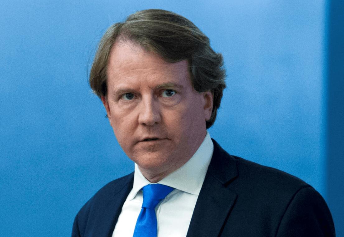 Principal abogado de la Casa Blanca dejará puesto en otoño, asegura Trump