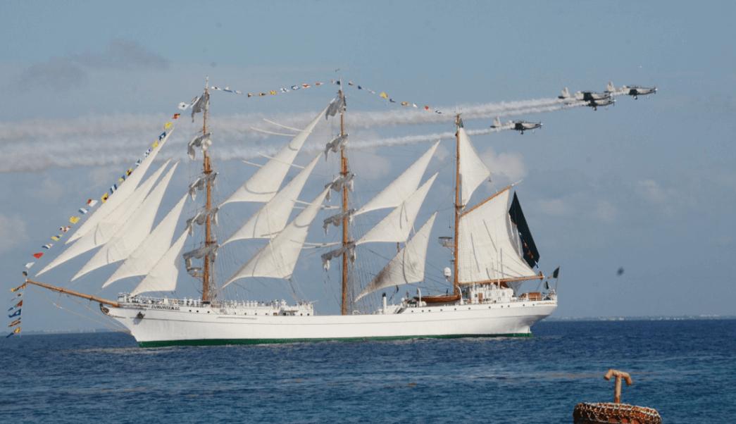Velas Latinoamérica reúne a buques del mundo