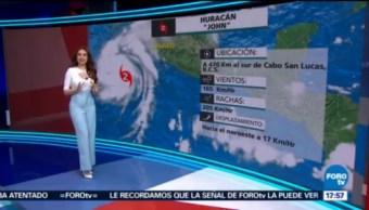 Clima Mayte Carranco Prevén Lluvias Muy Fuertes