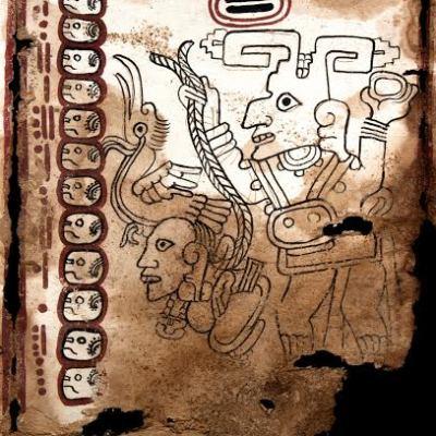 Confirman autenticidad de 'El Códice Maya de México', el más antiguo de América