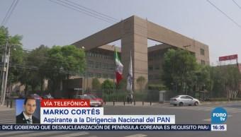 El PAN necesita recuperar democracia interna Marko Cortés
