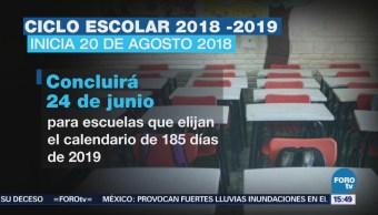 Próximo Lunes Inicia Ciclo Escolar 2018-2019 25 Millones 600 Mil Estudiantes Educación Básica Inician Clases 224 Mil Planteles En México