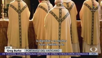 El Vaticano condena abusos sexuales cometidos por sacerdotes