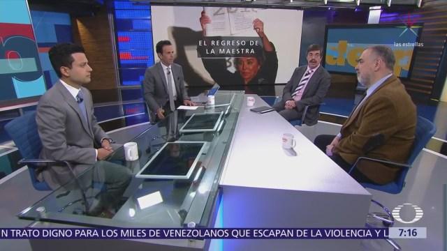 Elba Esther Gordillo, aeropuerto y reforma educativa, análisis en Despierta