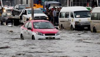 Lluvia de este jueves en CDMX rompió récord histórico