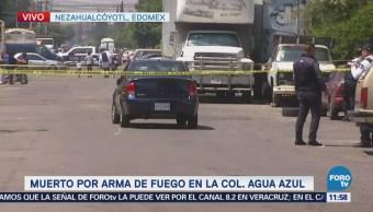 Encuentran cadáver dentro de auto en Nezahualcóyotl