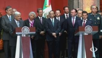 EPN y AMLO se reúnen; inician transición respetuosa