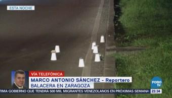 Movilización Policiaca Balacera Avenida Zaragoza Tepalcates