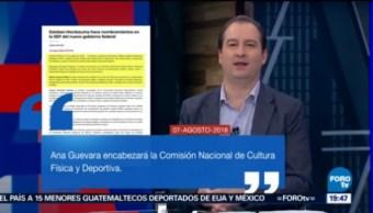 Esteban Moctezuma Nombra Equipo Acompañarlo Sep