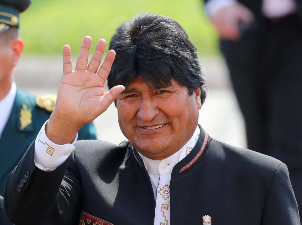 Evo Morales planea crear una ley contra la mentira