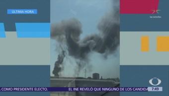 Explosión sacude aeropuerto de Bologna, Italia