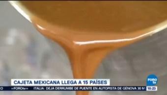 Extra Extra, El Reporñero Cajeta Mexicana 15 Países Dos Millones De Dólares Ganancia Exportación De Cajeta