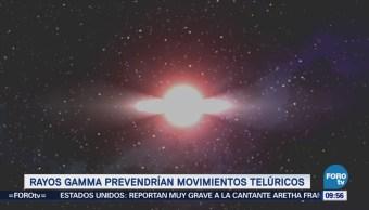 Rayos Gamma podrían prevenir movimientos telúricos