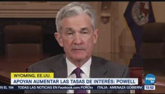 Fed Defiende Aumentos Tasas De Interés Jerome Powell