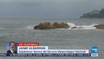 Huracán John Aleja Costas Mexicanas