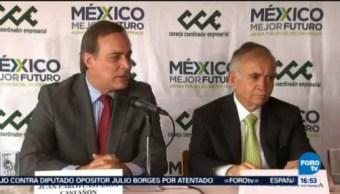 Alfonso Romo Reúne Empresarios Consejo Coordinador Empresarial (Cce)