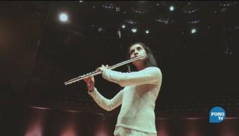 Flautista Mexicana Emilia Castañeda Nueva Generación Músicos Nacionales