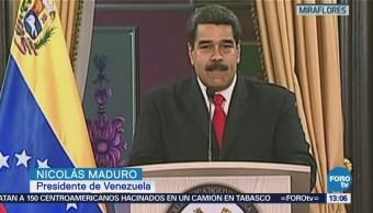 Frustran atentado contra Nicolás Maduro en Venezuela