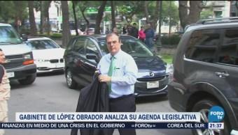 Gabinete de López Obrador analiza temas que enviarán al Congreso de la Unión