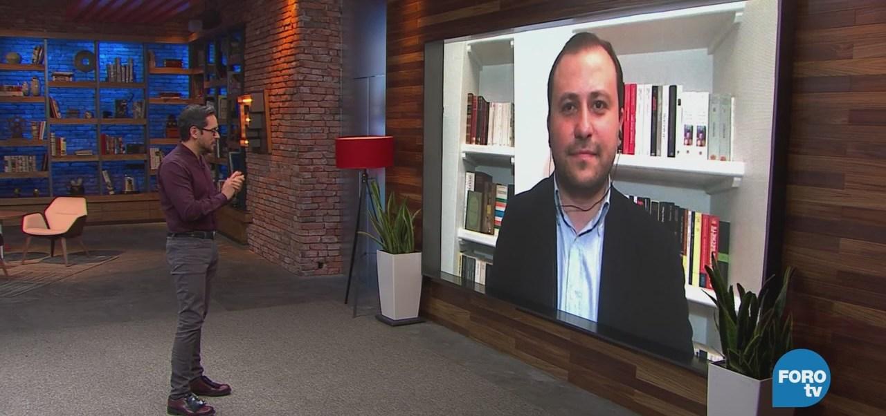 Genaro Lozano Entrevista A Gaspard Estrada