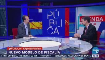 Gerardo Laveaga explica el nuevo modelo de Fiscalía