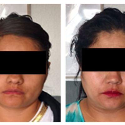 Detienen a tres mujeres por robo en la CDMX; dos son 'goteras'