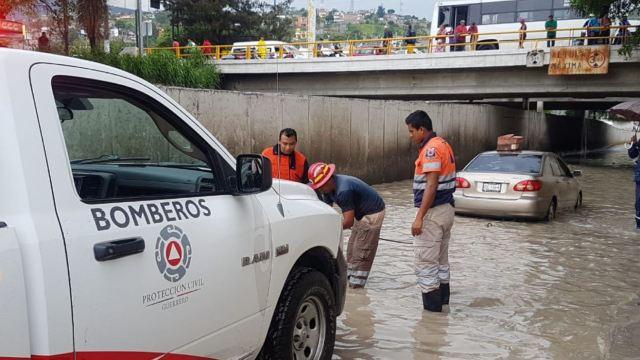 Lluvias en Guerrero: Un muerto por derrumbe en Chilpancingo