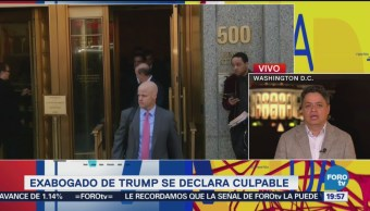 Ha Sido Un Mal Día Memorable Trump Donald Trump Excoordinador Paul Manafort Exabogado Michael Cohen