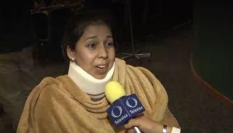Hablan sobrevivientes del accidente de avión en Durango