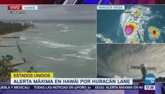 Hawái resiente los efectos del huracán 'Lane'