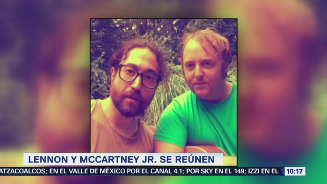 Hijos de los exintegrantes de The Beatles se toman selfie
