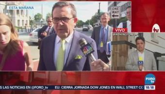 Ildefonso Guajardo se muestra cauto renegociación del TLCAN