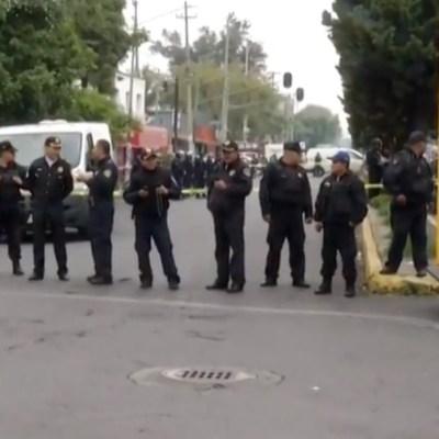 Balacera deja dos muertos y cinco detenidos en la colonia Morelos, CDMX