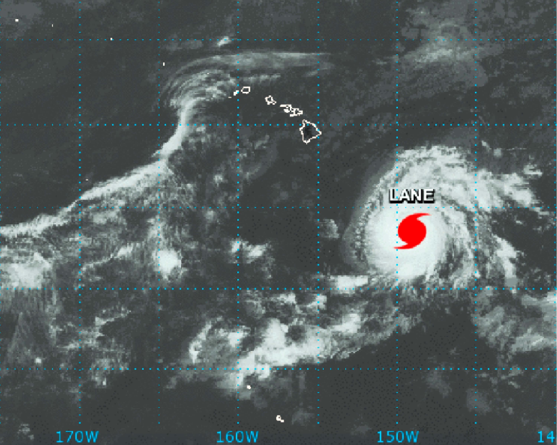 Hawai espera al huracán 'Lane', residentes abarrotan comercios