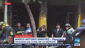 Incendio Negocio La Merced Muertos Ciudad de México