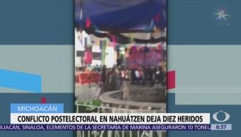 Indígenas denuncian fraude electoral en Nahuatzén, Michoacán