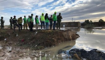 Lluvias en Durango afectan al menos 200 casas