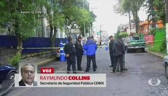 Investigan a policías por muerte de automovilista en CDMX