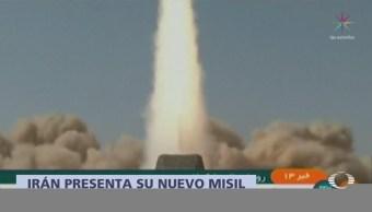 Irán presenta nuevo misil capaz de evadir radares