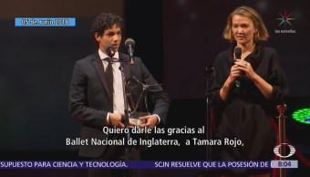 Isaac Hernández reconocido como el mejor bailarín del mundo