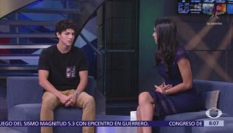 Isaac Hernández visita el estudio de Al Aire